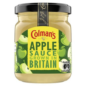 Colman's Bramley Apple Sauce Jar (PM) 8x155g [Regular Stock], Colman's, Table Sauces- HP Imports