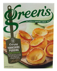 Green's Crispy Yorkshire Pudding Mix (PM) 6x125g [Regular Stock], Green's, Cooking Aids/Sauces/Mixes- HP Imports