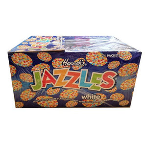 Hannah's Jazzles White Chocolate Bag 12x200g [Pre-Order Stock] {BEST BEFORE DATE: 2020-11-30}, Hannah's, Bulk Candy- HP Imports