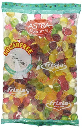 Astra Sugar Free Assorted Fruits 3kg [Regular Stock], Bulk Candy, Astra, [variant_title],HP Imports British Wholesale Distribution