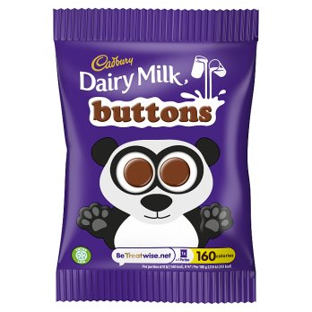 Cadbury Dairy Milk Buttons 28x30g [Regular Stock]