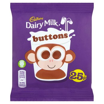 Cadbury Buttons (PM) 60x14.4g [Regular Stock], Cadbury, Chocolate Bar/Bag- HP Imports