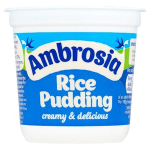 Ambrosia Rice Pudding 6x150g [Regular Stock], Ambrosia, Desserts- HP Imports