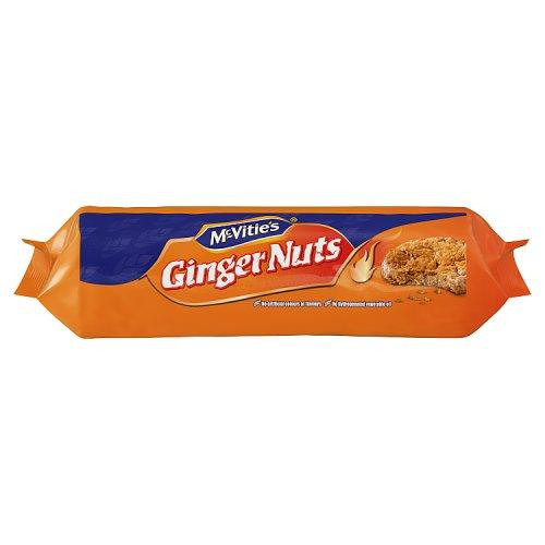 McVitie's Ginger Nuts 24x250g [Regular Stock], McVitie's, Biscuits/Crackers- HP Imports