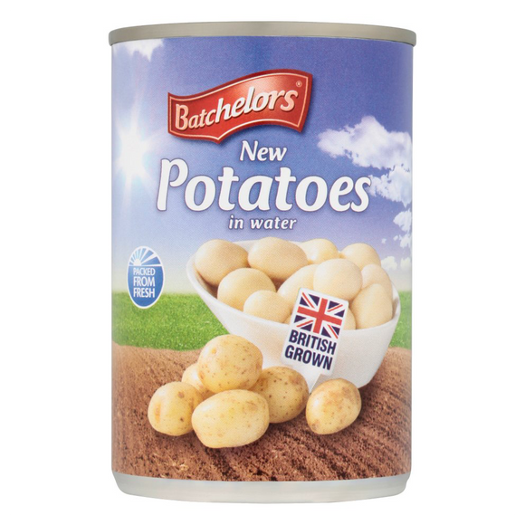 Batchelors New Potatoes Tin 12*300g [Regular Stock], Vegetables, Batchelors, [variant_title],HP Imports British Wholesale Distribution