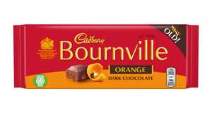 Cadbury Bournville Orange 17x100g [Regular Stock], Cadbury, Chocolate Bar/Bag- HP Imports