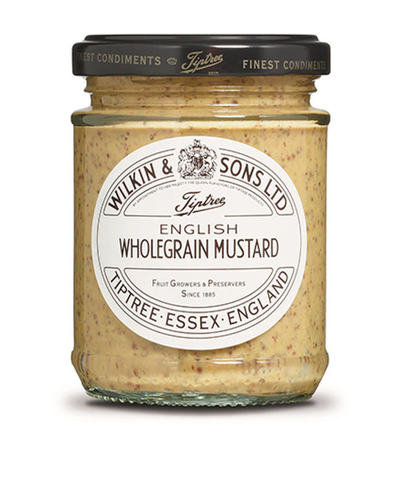 Wilkin & Sons Ltd. English Wholegrain Mustard 6x185g [Regular Stock], Heinz, Table Sauces- HP Imports