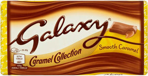 Mars Galaxy Caramel Large Block 24x135g [Regular Stock], Mars, Chocolate Bar/Bag- HP Imports