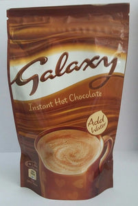 Mars Galaxy Instant Hot Chocolate Pouch 8x150g [Regular Stock], Mars, Chocolate Bar/Bag- HP Imports