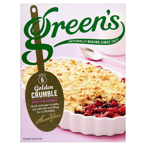 Green's Golden (Classic) Crumble Mix 6x280g [Regular Stock], Green's, Baking- HP Imports