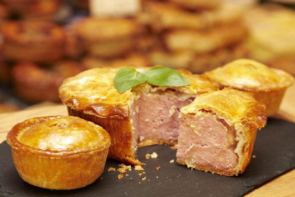 Melton Mowbray Small Pork Pies 24x150g [Regular Stock], Quality Foods, Pork Pies- HP Imports