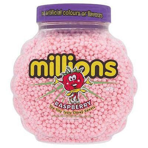 Millions Raspberry Jar 2.2kg [Regular Stock], Millions, Bulk Candy- HP Imports
