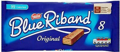 Nestle Blue Riband (6+2) 8 pack 28x144g [Regular Stock], Blue Riband, Biscuits/Crackers- HP Imports