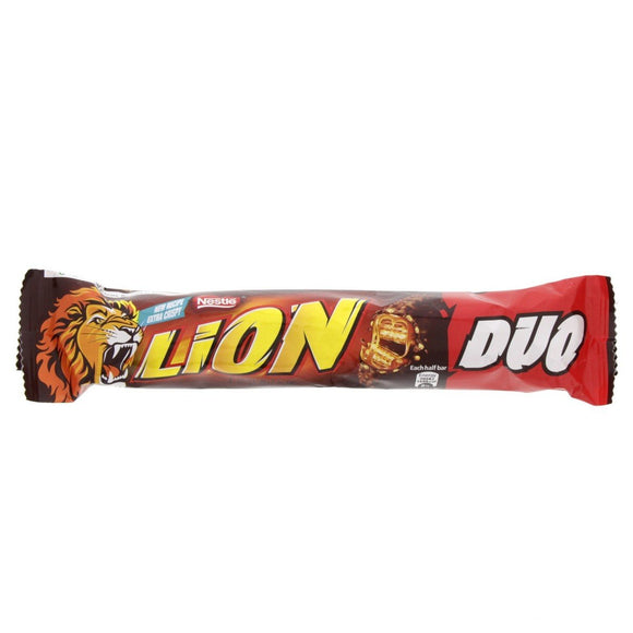 Lion Milk Chocolate Bar Duo 28x60g [Regular Stock], Lion, Bagged Candy- HP Imports