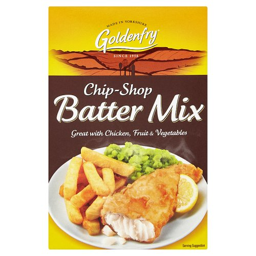 Golden Fry Chip Shop Batter Mix 12x170g [Regular Stock], GoldenFry, Cooking Aids/Sauces/Mixes- HP Imports