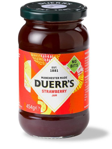 Duerr's Strawberry Jam 6x454g [Regular Stock], Duerr's, Jams/Marmalade/Spread- HP Imports