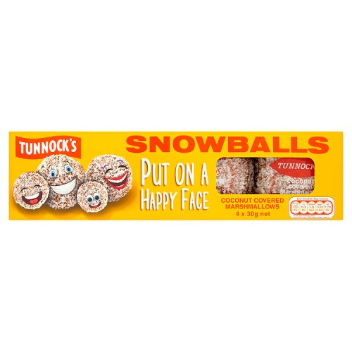 Tunnock's Snowballs 4PKx12 [Regular Stock], Tunnocks, Biscuits/Crackers- HP Imports