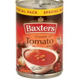 Baxters Vegetarian Minestrone 12x400g [Regular Stock], Baxters, Soups- HP Imports