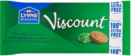 Lyon's Viscount Mint 14*196g 100% extra Free [Regular Stock], Biscuits/Crackers, Lyon's, [variant_title],HP Imports British Wholesale Distribution