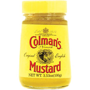 Colman's Original English Mustard Jar 8x100g [Regular Stock], Colman's, Table Sauces- HP Imports