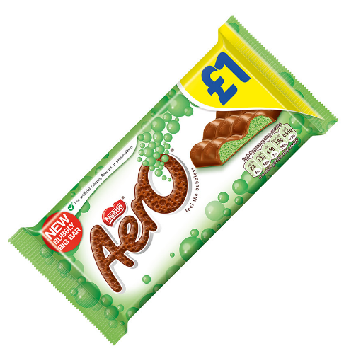 Nestle Aero Peppermint (PM) 15x100g [Regular Stock], Nestle, Chocolate Bar/Bag- HP Imports