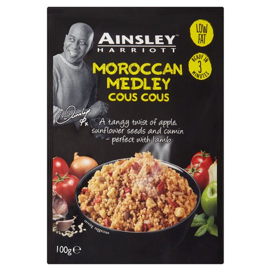 Ainsley Harriot Moroccan Medley Couscous (PM) 12x100g [Pre-Order Stock] {BEST BEFORE DATE: 2021-01-31}, Ainsley Harriot, Soups- HP Imports