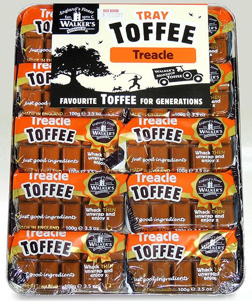 Walker's Andy Pack Treacle Toffee 10x100g [Regular Stock], Walkers, Bagged Candy- HP Imports