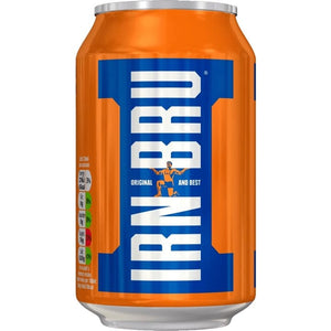 Barr's Irn Bru (For Canada) Cans 24x330ml [Regular Stock], Barr's, Pop Cans- HP Imports
