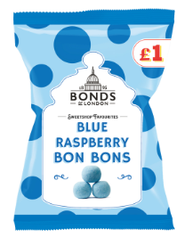 Bonds Blue Raspberry Bon Bons Share Bags (PM) 12x150g [Regular Stock], Bonds, Bagged Candy- HP Imports