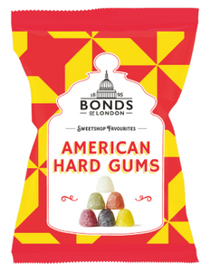 Bonds American Hard Gums Share Bags 12x150g [Pre-Order Stock], Bonds, Bagged Candy- HP Imports