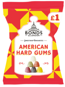 Bonds American Hard Gums Share Bags (PM) 12x150g [Pre-Order Stock], Bonds, Bagged Candy- HP Imports