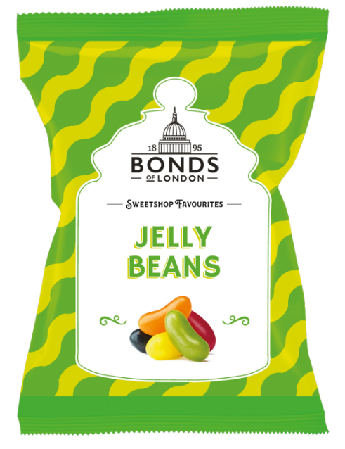Bonds Jelly Beans Share Bags 12x150g [Regular Stock], Bonds, Bagged Candy- HP Imports