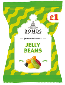 Bonds Jelly Beans (PM) Share Bags 12x150g [Regular Stock], Bonds, Bagged Candy- HP Imports