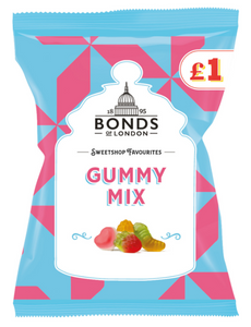 Bonds Gummy Mix (PM) Share Bags 12x150g [Regular Stock], Bonds, Bagged Candy- HP Imports