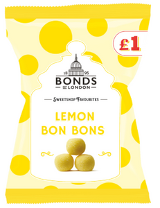 Bonds Lemon Bon Bons (PM) Share Bags 12x150g [Regular Stock], Bonds, Bagged Candy- HP Imports