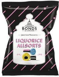 Bonds Liquorice Allsorts Share Bags 12x150g [Regular Stock], Bonds, Bagged Candy- HP Imports