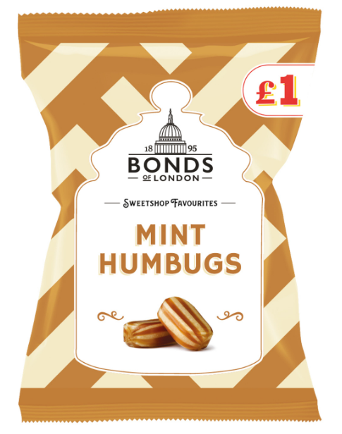 Bonds Mint Humbugs (PM) 12*150g [Regular Stock], Bagged Candy, Bonds, [variant_title],HP Imports British Wholesale Distribution