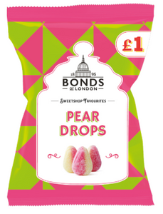 Bonds Pear Drops (PM) Share Bags 12x150g [Regular Stock], Bonds, Bagged Candy- HP Imports