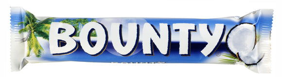Mars Bounty Milk Twin 24x57g [Regular Stock], Mars, Chocolate Bar/Bag- HP Imports