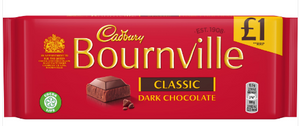 Cadbury Bournville Classic Dark Chocolate Bar (PM) 18x100g [Regular Stock], Cadbury, Chocolate Bar/Bag- HP Imports
