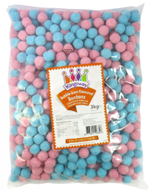 Kingsway Bubblegum Bonbons 3Kg [Regular Stock], Bulk Candy, Kingsway, [variant_title],HP Imports British Wholesale Distribution