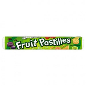 Rowntree's Fruit Pastilles Roll 32x52.5g [Regular Stock], Rowntrees, Bagged Candy- HP Imports