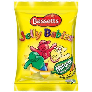 Maynards Bassetts Jelly Babies Bags 12x190g [Regular Stock], Maynards Bassetts, Bagged Candy- HP Imports