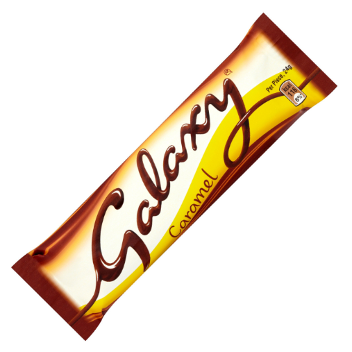 Mars Galaxy Smooth Caramel Bar 24x48g [Regular Stock], Mars, Chocolate Bar/Bag- HP Imports