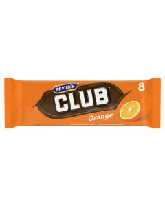 McVitie's Club Orange 30x(8x22g) 176G [Regular Stock]