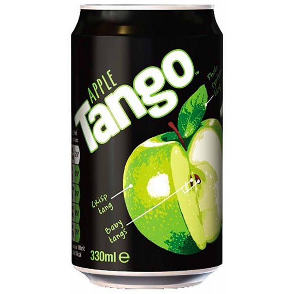 Tango Apple cans 24*330ml [Regular Stock], Pop Cans, Tango, [variant_title],HP Imports British Wholesale Distribution