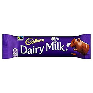 Cadbury Dairy Milk Bar 48x45g [Regular Stock], Cadbury, Chocolate Bar/Bag- HP Imports