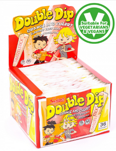 Swizzels Double Dip Sachets 36x19g [Regular Stock], Swizzels, Bagged Candy- HP Imports
