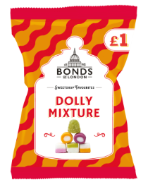 Bonds Dolly Mix (PM) Share Bags 12x150g [Regular Stock], Bonds, Bagged Candy- HP Imports