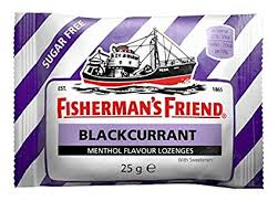 Fisherman's Friend Blackcurrant Pack 2 20x20g [Regular Stock], Fisherman's Friend, Bagged Candy- HP Imports